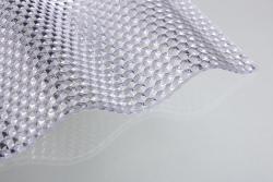 Lichtplatten aus Acrylglas 76/18 Welle farblos 3,0 mm WABE