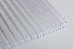 4 mm Stegdoppelplatten farblos