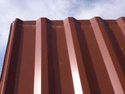 Stahlblechplatten Restposten Trapezprofil 2,50m Profil 20/1100